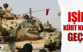 IŞİD'e ve Kürt koridoruna geçit yok