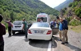 CHP konvoyuna saldırı