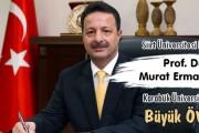 Siirt Üniversitesi Rektörü Prof. Dr. Murat Erman'dan Karabük Üniversitesi'ne Büyük Ö...