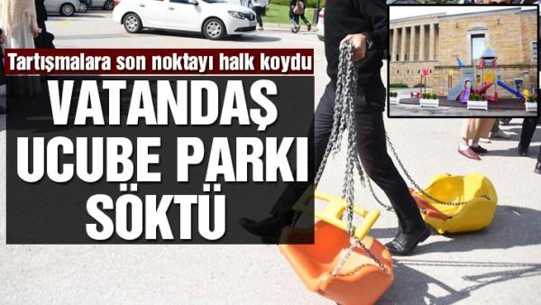 ANITKABİR'E YAPILAN O PARK ARTIK YOK