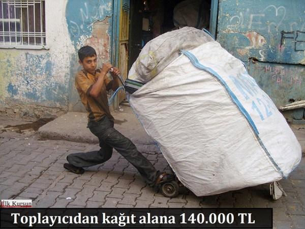 Bakanlık kağıt işçilerini işsiz bıraktı: Toplayıcıdan kağıt alana 140.000 TL ceza