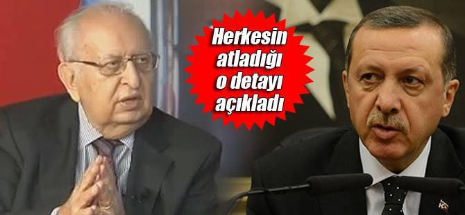Erdoğan'ın AYM çıkışının nedenini Cindoruk açıkladı