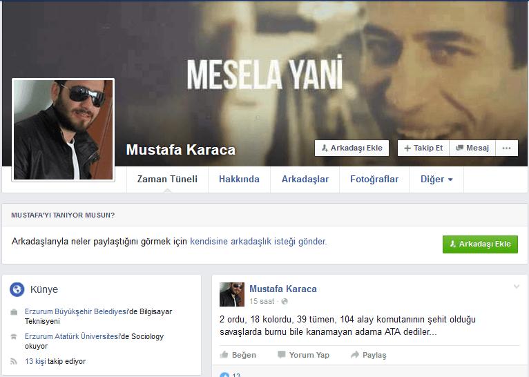 Belediye personelinden Atatürk'e akıl almaz hakaret