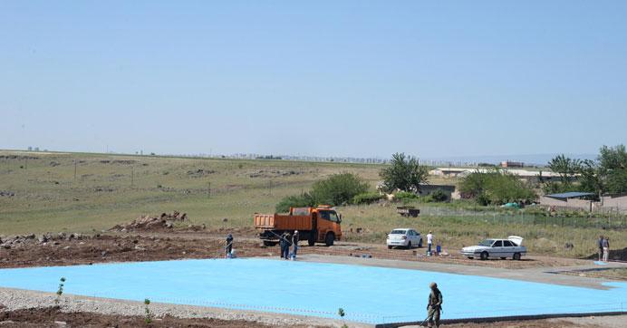 Kıymeti yaşayan köyde Erdoğan hazırlığı