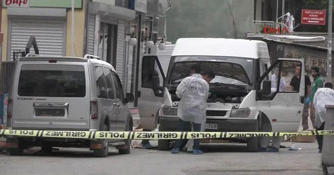 Muş'ta Vali Konağı yakınında bomba yüklü minibüs