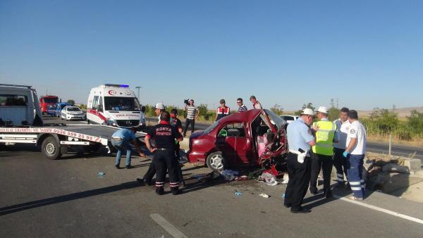 Feci kaza!...Aynı aileden 3 kişi öldü