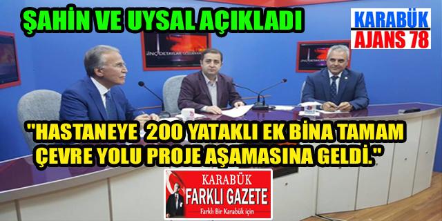 Şahin-Uysal birlikte açıkladı.