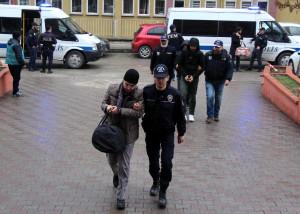 Karabük'te Fetö Soruşturmasında 9 Asker Adliyede