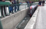 Karabük Otomobil Su Kanalına Düştü 2 Yaralı