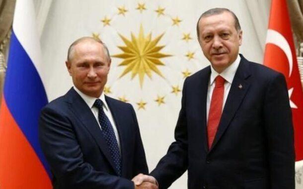 Erdoğan ile Putin , Kovid-19'a karşı iş birliğini görüştü